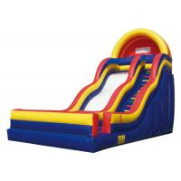 China Children Fun Colourful Large Inflatable Slide Fun Land For Summer Activity on sale