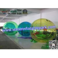 Wholesale Transparent Floating Inflatable Water Ball , Walking WaterZorbBall 2.5m Diameter from china suppliers