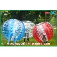 Quality Large Inflatable Bubble Ball , 1.5m Sport Games Inflatable Bumper Ball for sale