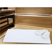 Wholesale White Color Modern Hotel Bath Mats For Bathroom Area Microfiber Material from china suppliers