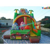 Wholesale Childrens Cute Commercial Inflatable Slide , Small Inflatable Dry Slide Slip from china suppliers