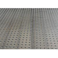 China Steel Aluminum Perforated Metal Mesh Sheet 0 . 8mm - 2mm For Protection Decoration on sale