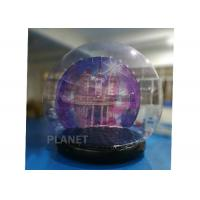 Buy cheap Customized Giant Human Size Inflatable Snow Globe With Blower , Air Pump from wholesalers