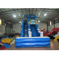 Wholesale Digital print inflatable Naval Air Force Helicopter standard slide inflatable high dry slide for Children under 15 years from china suppliers