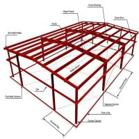 Wholesale ASTM Warehouse Steel Structure / Prefab Steel Workshop With Free Design from china suppliers