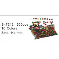 Wholesale Helmet Toy, Educational Toy, Counting Toy, Teaching Aid, Teaching Aid, 10 Colors Small Helmet Caps (S-7212) from china suppliers