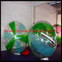 Wholesale 2m Human Sized Hamster Ball Colorful , Inflatable Water Ball TPU/PVC Material for Sale from china suppliers