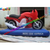 China Customized Advertising Inflatables Motorcycle Replica , Inflatable Motorbike Model on sale