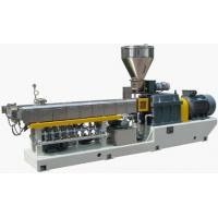 China Parallel Twin Screw EXtruder WPC Profile Extrusion Line For PE / WPC Granulating on sale