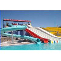 Wholesale Amusement Park , Closed / Open Commercial Spiral Water Slide With Swimming Pool from china suppliers
