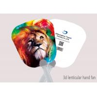 Wholesale CMYK Customised 3D Lenticular Hand Fan Toys With Animal Designs from china suppliers
