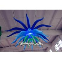 Wholesale Giant Multi-color Inflatable Led Light with Spider Shape for Concert and Bar from china suppliers