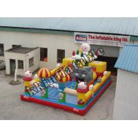China Kids Inflatable Jumping Castle / Castle Bounce House With Slide on sale
