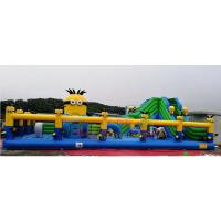 Wholesale Fire Proof Inflatable Amusement Park Commercial Spongebob Bounce House from china suppliers