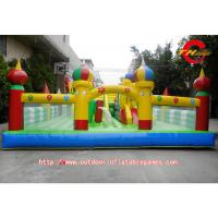 Wholesale Childrens PVC Inflatable Bounce House With Slide For Disney Theme Park from china suppliers