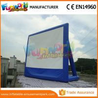 Wholesale Portable Inflatable Backyard Movie Screen Outdoor Games Inflatable Billboards from china suppliers