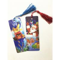 Wholesale Eco-friendly Lenticular 3D Bookmarks PET Material With Tassel Customized from china suppliers