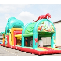 Wholesale Animal Bounce House Kids Slides Inflatable Obstacle Course from china suppliers