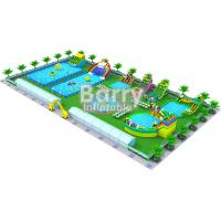 China Inflatable Dry Water Park Equipment Playground Business Plan PVC Tarpaulin 0.9mm on sale