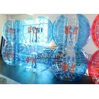 Wholesale Durable Transparent Inflatable Bubble Soccer 1.5 Meters 100% TPU 1mm Thickness from china suppliers