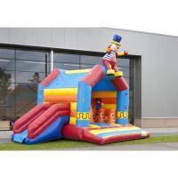 Wholesale One Hand Commercial Inflatable Bounce House PVC Materials For 3 - 23 Years Old from china suppliers