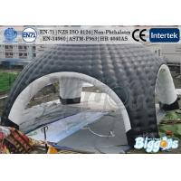 Buy cheap Black Safty Outdoor Event Inflatable Dome Tent With HR4040 Brazil OEM ODM from wholesalers