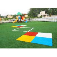 Wholesale Safety Kindergarten Flooring / 3 /1 6'' Artificial Grass Landscaping from china suppliers