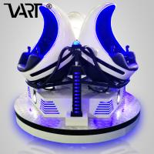 China 3 Seats 9D Egg VR Cinema Arcade Game Machines Virtual Reality 9D Cinema Ride on sale