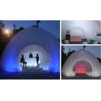 Quality Hot sale advertisin inflatable lighting tent for tea house / inflatable tent with led tent for sale