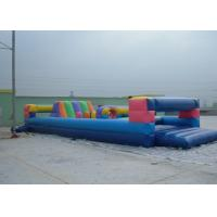 Buy cheap Durable Commerical grade inflatable obstacle course , PVC Inflatable Amusement from wholesalers