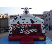 Quality Kindergarten Dog Commercial Gaint Inflatable Bouncers , PVC Amusement Park Inflatable for sale