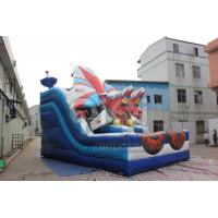 Wholesale Inflatable warcraft fighter slide for sale from china suppliers