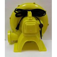Quality Sturdy Durable Inflatable Slide Blower , Yellow Inflatable Toy Blower Low Noise for sale