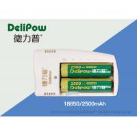Wholesale Environment Friendly 3.7V 2200mah 18650 Lithium Battery Low Power Self - Consumption  from china suppliers