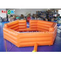 Wholesale 6m Outdoor Entertainment Inflatable Sports Games Football Field For Playground from china suppliers