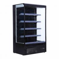 Wholesale Embraco Compressor Vertical Display Fridge Dairy Food / Beverage Display from china suppliers