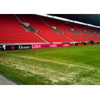 China Big HD Stadium Perimeter Led Display P10mm , Football Ground Advertising Boards on sale