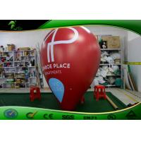 China Customized Helium Inflatable Advertising Balloon Durable 1m - 6m ROHS Approval on sale