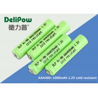 Buy cheap Smart Low Temperature Rechargeable Batteries Aaa Nimh 400-1000mAh from wholesalers