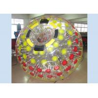 Mega transparent inflatable zorb ball for childrens and adults roll inside