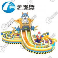 Buy cheap PVC Inflatable Jumping Bouncer Inflatable Bouncy Castle Lead Free Double from wholesalers
