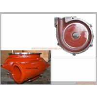 Buy cheap Wear Resistant Material Slurry Pump Parts Pump Volute Liner Easy Installation from wholesalers