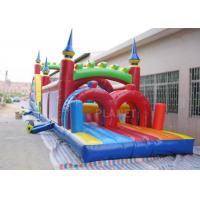 Wholesale Funny Sport Games Adult Inflatable Obstacle Course Challenge Bounce House from china suppliers