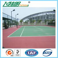 SGS Athletic Gymnasium Flooring Outdoor Play Surfaces Non Toxic Water Solubility