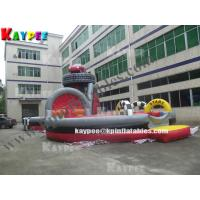 Wholesale Racing track obstacle zone,inflatable sport game,Car obstacle KOB052 from china suppliers
