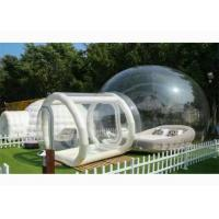 Wholesale PVC Inflatable Transparent Bubble House Tent For People Have A Camping In Outdoor from china suppliers