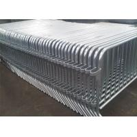 Wholesale 14 Bar  Crowd Control Barriers Hot Dipped Galvanized For Belgium Market High Quality ,Crowd Control Barricade from china suppliers