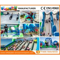 Wholesale Custom Inflatable Rent Obstacle Course Fireproof Material For Amusement Park from china suppliers