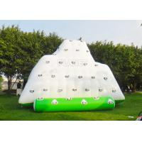 Wholesale Water Iceberg Inflatable Water Games Rock Climbing Mountains For Pool from china suppliers