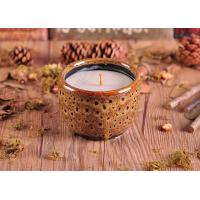 Wholesale ASTM Test Passed Amber Glazed Ceramic Candle Holder with low MOQ from china suppliers